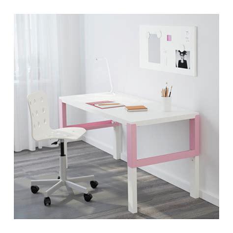 ikea pahl p 197 hl desk white pink 128x58 cm ikea