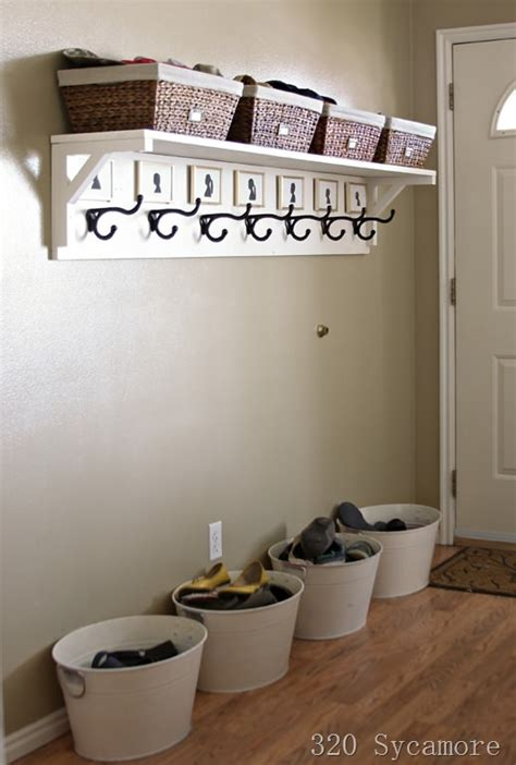 entryway organization ideas diy entryway projects the budget decorator