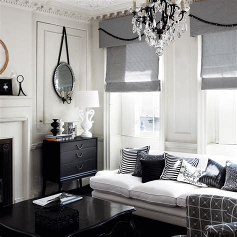 Georgian Style Living Room by Monochrome Georgian Style Living Room How To Decorate