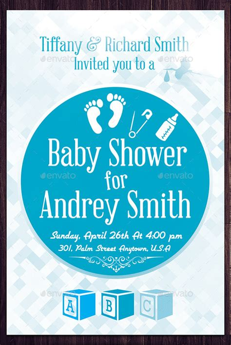 baby shower flyer template 21 baby shower flyer templates psd ai illustrator