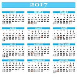 Calendario Argentina 2017 Calendario 2017 Feriados Calendar Template 2016