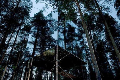 tree hotel mirrorcube tham videgard arkitekter