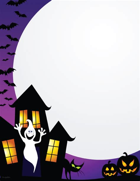 printable halloween stationery paper 7 best images of free printable halloween stationery