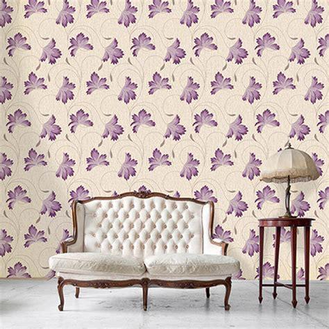 colours cocktail plum floral wallpaper departments diy crown flourish floral motif wallpaper plum decorating diy