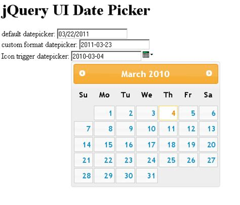 javascript format date as you type jquery datepicker custom format icon trigger
