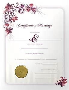 certificates quot we do quot li weddings