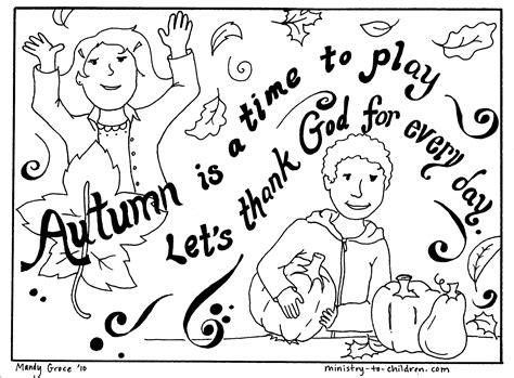 fall coloring page preschool bible coloring pages