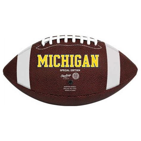 michigan football fan gear michigan logo football michigan wolverines logo football