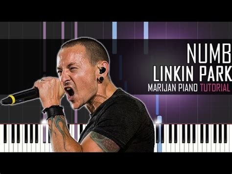 how to play comfortably numb on piano numb linkin park piano synthesia linkin park numb