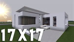 minecraft tuto construction moderne en 17x17