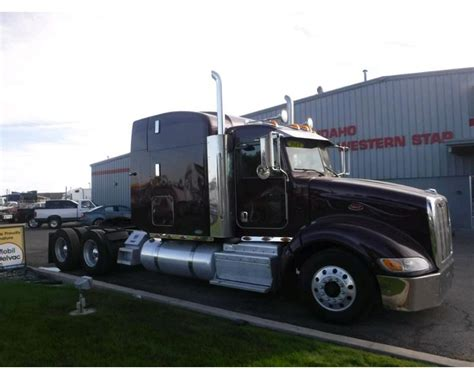Peterbilt Sleeper by 2011 Peterbilt 386 Sleeper Truck For Sale 715 338