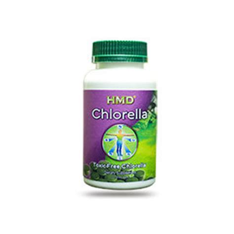 Chlorella Metal Detox by Chlorella Pyrenoidosa 600mg 120 Capsules Heavy Metal