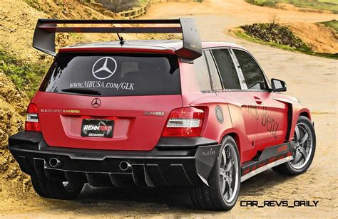 car mercedes 2010 2010 sema mercedes benz glk tuner cars