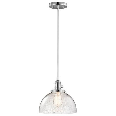 kichler pendant light kichler 43853ch avery chrome mini ceiling pendant light