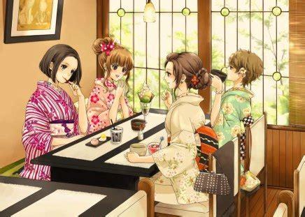 restaurant  anime background wallpapers
