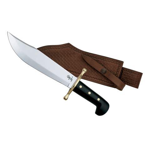 case knife pattern st w r case smooth jet black bowie knife bowiess bayou