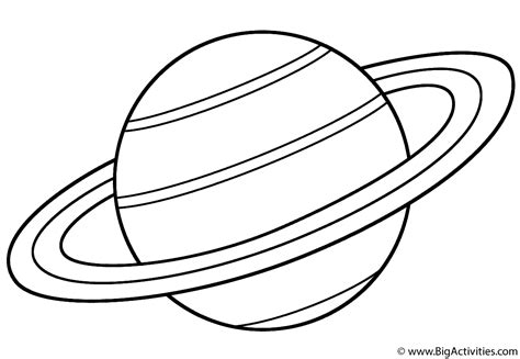 coloring pages of uranus the planet planet saturn coloring page space