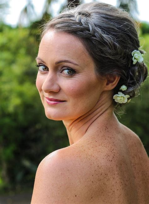 Wedding Hairstyles For Grey Hair by Louise For Wedding Day In Te Puna Cool