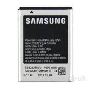 travel charger 07a samsung galaxy ch chat original oem genuine samsung eb424255vu battery phone batteries