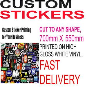 Bulk Custom Stickers
