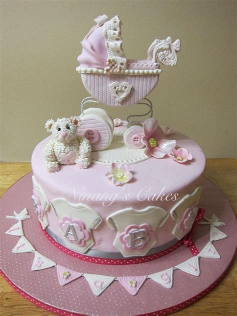 Baby Shower Carriage by Best 25 Baby Carriage Cake Ideas On Cakes For