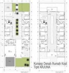 design kamar kost vintage layout denah rumah dan tempat usahan kos kosan design
