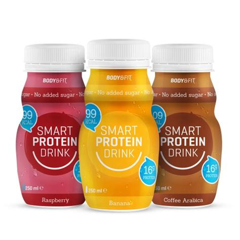 protein drinks for smart protein drinks fit