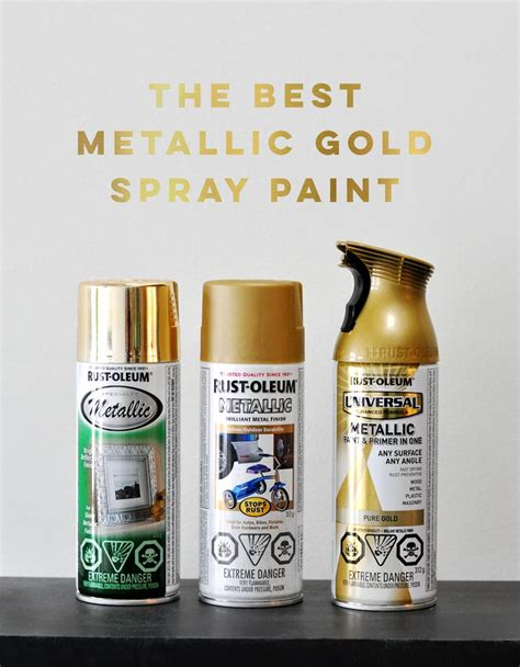 the best metallic gold spray paint visualheart creative studio