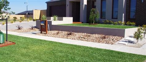 Australian Front Garden Ideas Front Garden Landscaping Affordable Scapes Australia Hipages Au