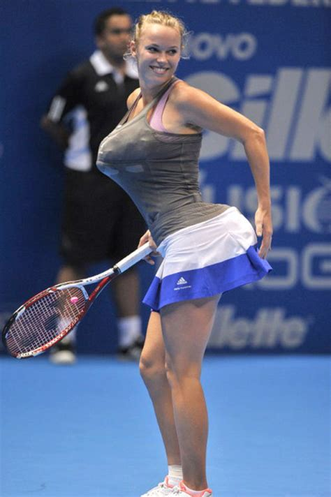 pauline sabatini serena williams impersonation is caroline wozniacki s
