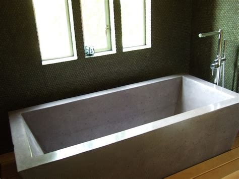poured concrete bathtub concrete bathtub concrete pinterest