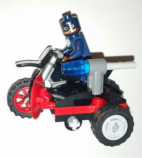 New Arrival Lego 30447 Captain America 39 S Motorcycle Bps106 lego marvel toys