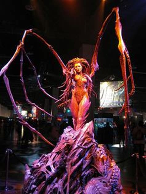 amazing life sized starcraft queen of blades statue photo 1000 images about kerrigan cosplays on pinterest sarah