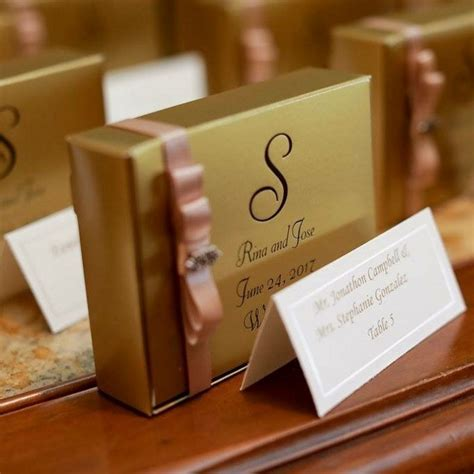 5 x 4 Cake Slice Favor Boxes Personalized   My Wedding