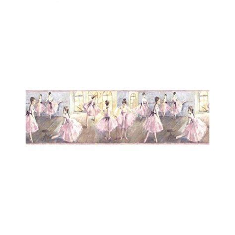 Peel And Stick Wallpaper Reviews by Ballerina Ballet For Girls Wallpaper Border All 4