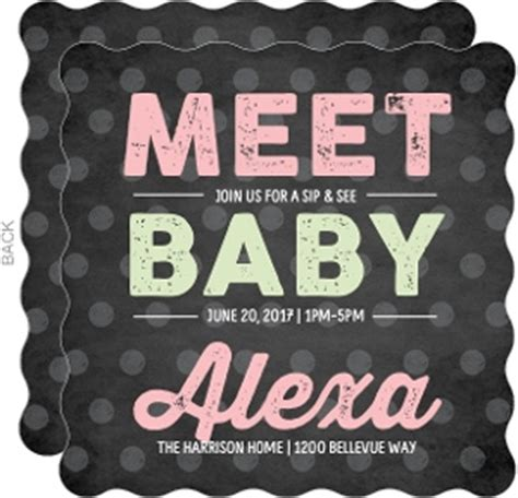 Sip And See Baby Shower by Couples Baby Shower Invitations Coed Baby Shower Invitations