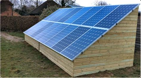 Solar Panel For Shed by Solar Panels On Shed