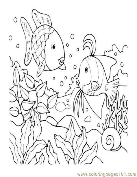 Coloring Pages Tropical Fish Coral Reef 02 Animals Coral Reef Coloring Page