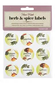 spice jar label templates spice jar labels spice labels sticky spice jar labels