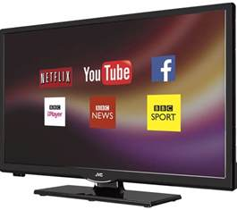 buy jvc lt 24c660 smart 24 quot led tv free delivery currys