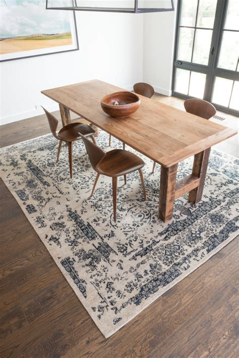 Dining Table Carpet Mat Currently Craving Statement Rugs For Every Space