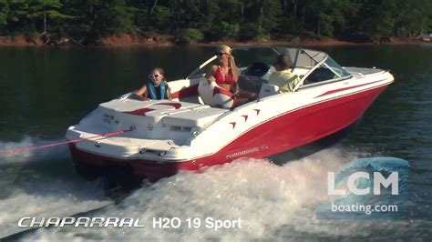 chaparral boats h2o reviews chaparral boats h2o 19 sport bowrider youtube