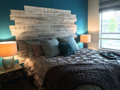 Peel And Stick Headboards Upgrade Your Headboard With Peel And Stick Wood Boards Made Diy Crafts For