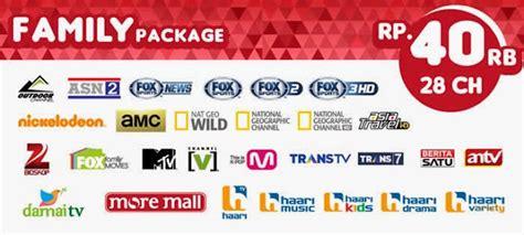 Harga Chanel Tv Berlangganan harga paket pasang parabola digital skynindo channel