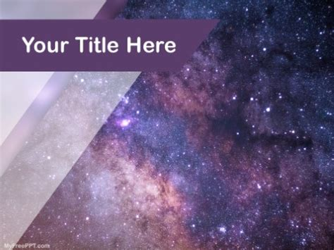 powerpoint templates free download galaxy free science powerpoint templates themes ppt