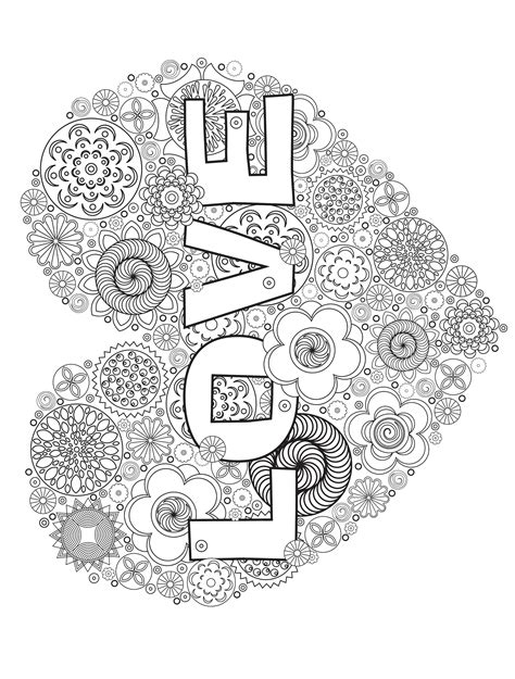 paisley heart coloring page heart valentines abstract doodle zentangle paisley