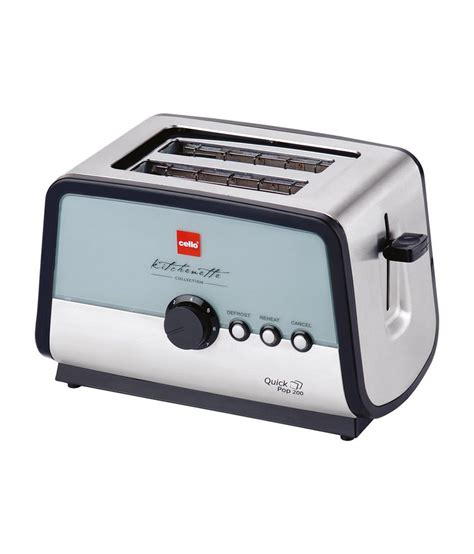 Pop Up Toaster cello pop 200 2 pop up toaster price in india 17