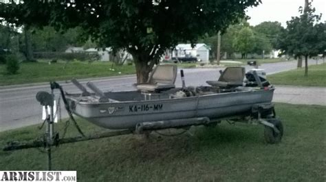 used jon boats for sale in kansas armslist for sale jon boat