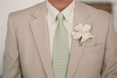 green wedding suit and green printed tie 2070623