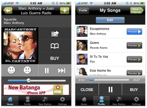 batanga review batanga com app brings latin music to your iphone ipod